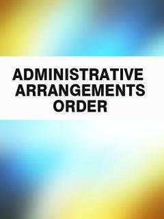 administrative-arrangements-order