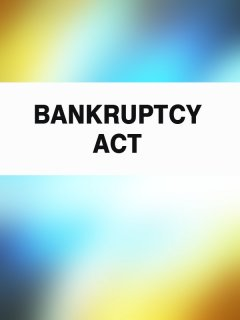 bankruptcy-act