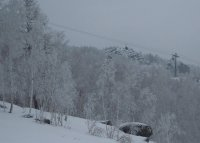 Зимний день в Банном