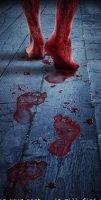 Асфальт, кровавые следы…