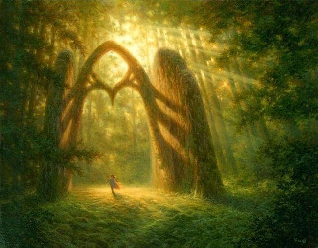 Заповедных лесов изумрудная взвесь