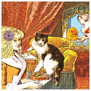 Про мамзелей и котов