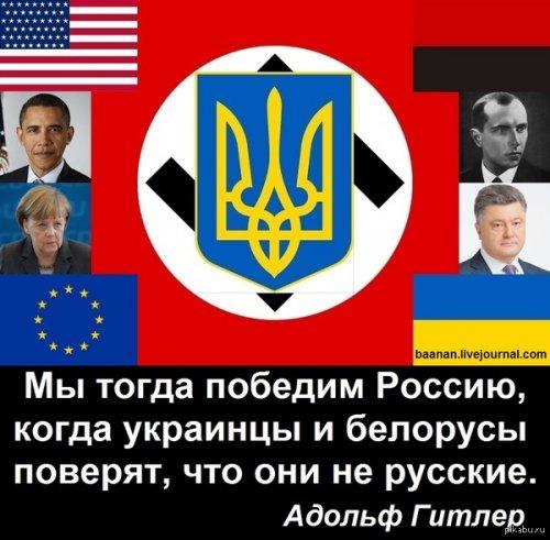 Антропологические различия украинцев и русских