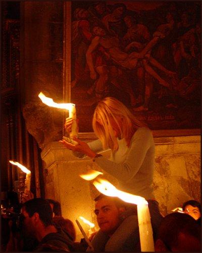 Огонь Господень...