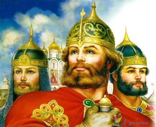 Сказка о мудром царе и о трёх братьях
