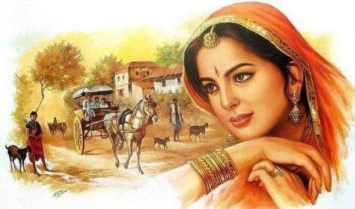 Сказка об индийском радже, о магии и о любви