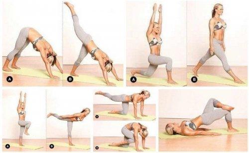 Программа упражнений для разминки перед танцами