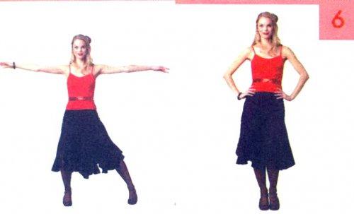 Латиноамериканские танцы, обучение основным навыкам и приёмам