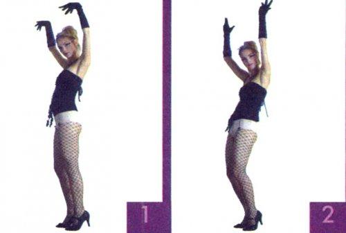 Танец бурлеск, научитесь его правильно танцевать