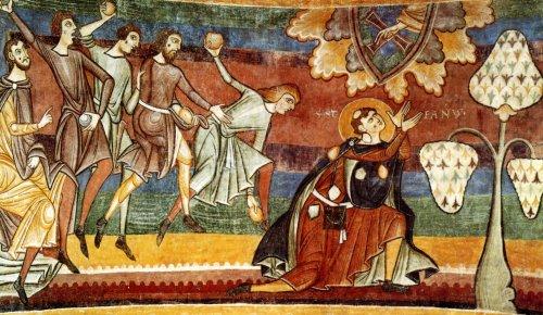 Сюжет средневекового западноевропейского искусства