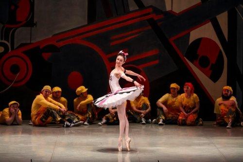 Изменение внутренней структуры личности в балетном спектакле