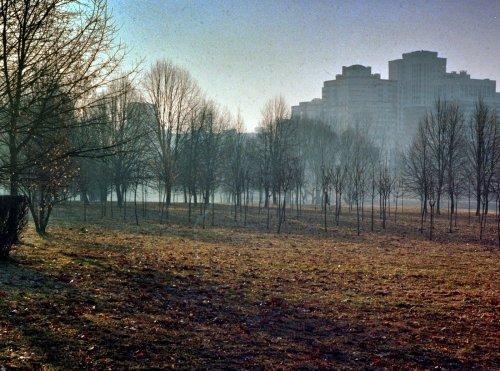 Город проснувшийся