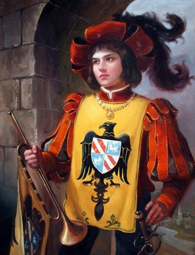 Сказка о любви королевского пажа и принцессы Элеоноры