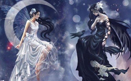 Сказка о волшебнице и о колдунье