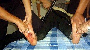 Срез кож брал в контрразведке нож