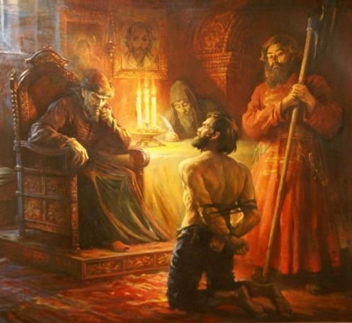 Царёв  признав суд Божьим…