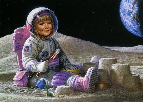 На Луну!