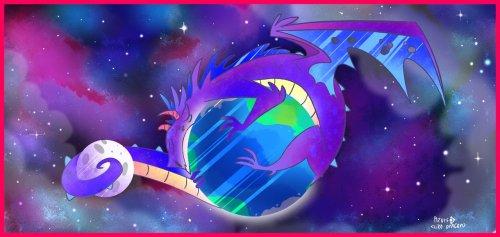 Сказка о космическом драконе