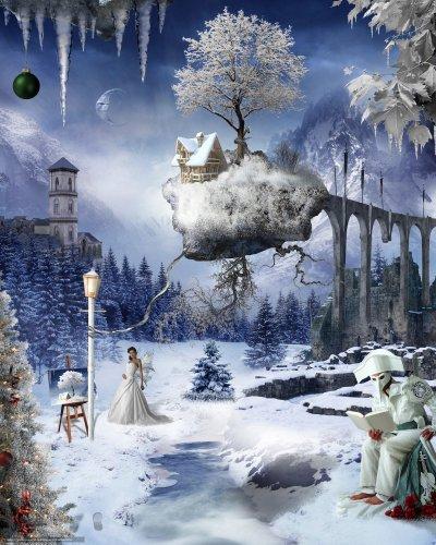 Новогодняя фантазия (Антирозочка-Роткадер озвучка)