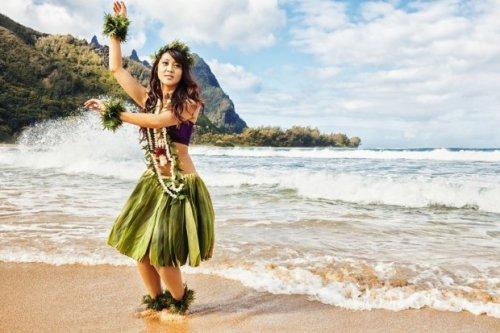 Девушка из племени Тувалу