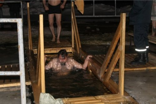 В ночь Крещенья