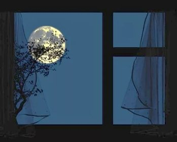Гнобила Луна светом!..