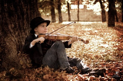 Бродячий скрипач