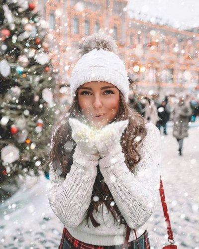 Северная девушка-Зима