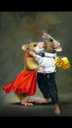 У меня ведь ближе крысы... (На конкурс)
