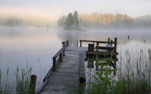 Утро на озере (песня)