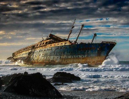 Так умирают пароходы...