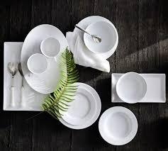 Красивая сервировка стола зависит от красивых тарелок