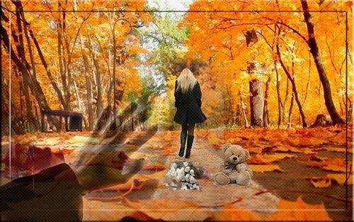 В саду неслышно бродит Осень...